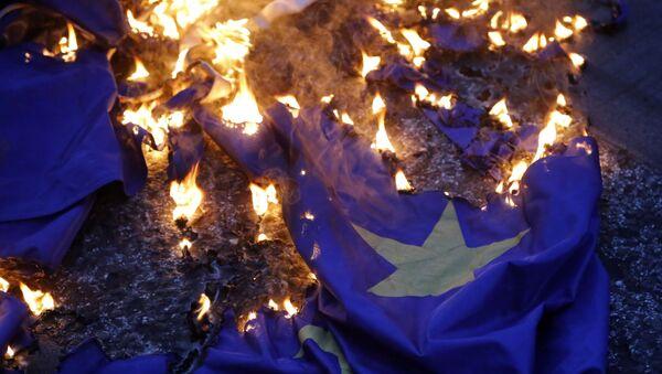La bandiera dell'UE - Sputnik Italia