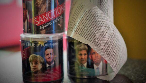 Carta igienica con il testo delle sanzioni - Sputnik Italia