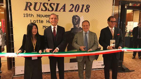 Inaugurazione della fiera VinItaly - Sputnik Italia