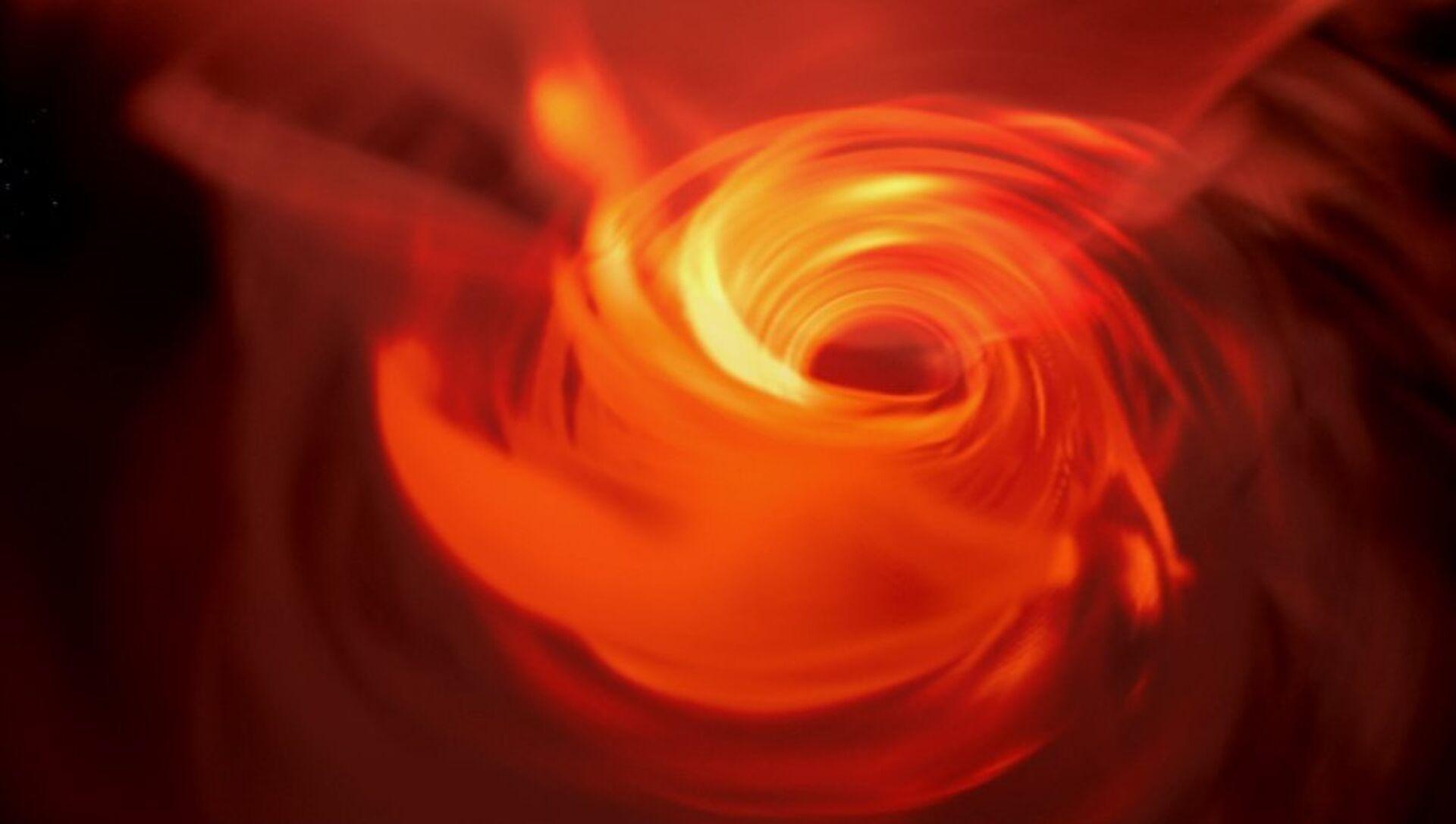 Gli astronomi creano una riproduzione VR del buco nero al centro della galassia - Sputnik Italia, 1920, 20.04.2021