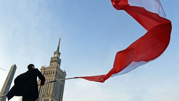 Bandiera Polonia - Sputnik Italia