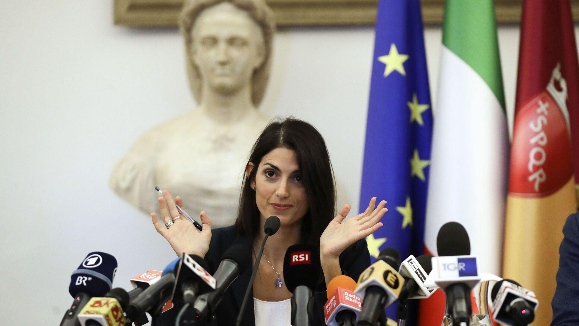 Virginia Raggi, sindaco di Roma - Sputnik Italia, 1920, 26.05.2021