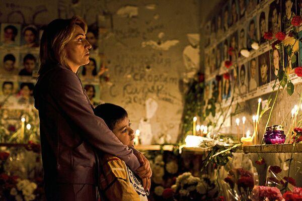 Commemorazione per il quindo anno dalla strage di Beslan - Ossezia del Nord - Sputnik Italia