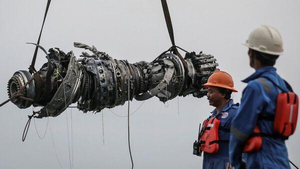 Motore dell'aereo schiantatosi in Indonesia - Sputnik Italia