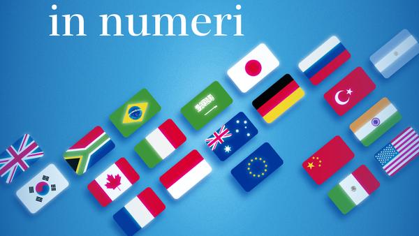 Il G20 in numeri - Sputnik Italia