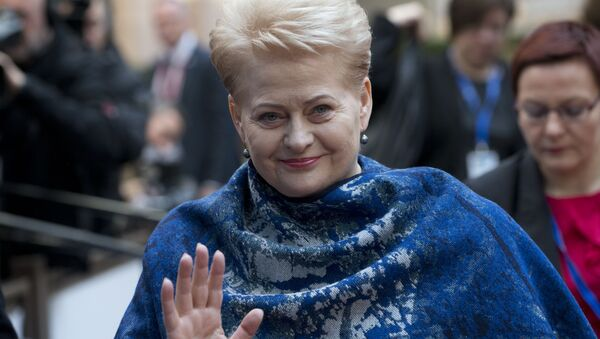 Presidente della Lituania Dalia Grybauskaite - Sputnik Italia
