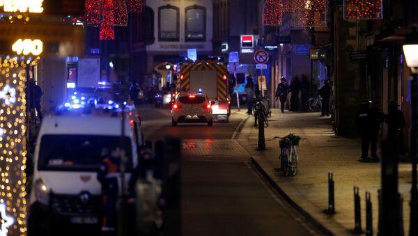 A Strasburgo sono stati esplosi diversi colpi d'arma da fuoco - Sputnik Italia