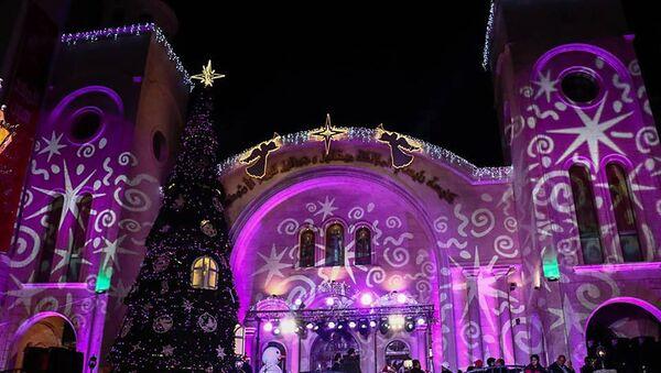 La Siria si prepara al Natale - Sputnik Italia