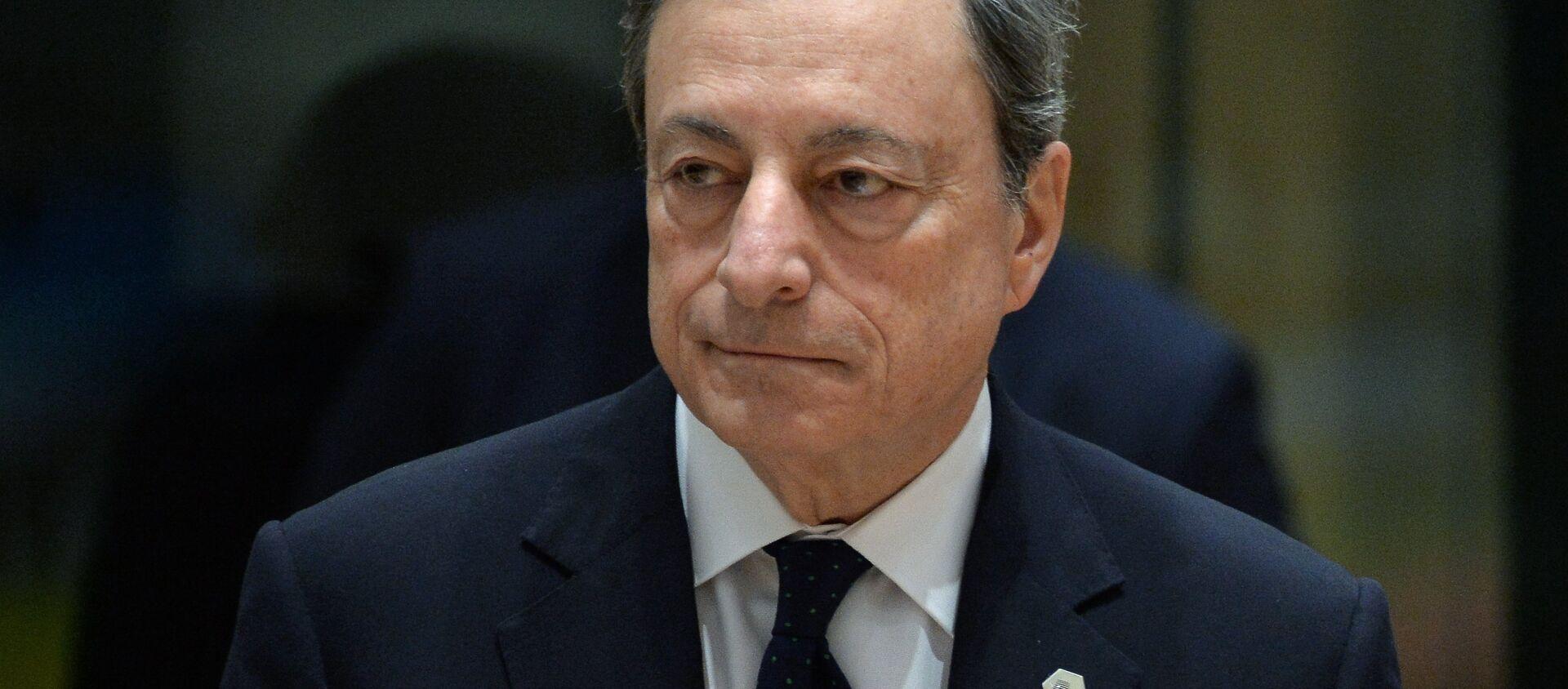 Presidente della Bce Mario Draghi - Sputnik Italia, 1920, 18.08.2020