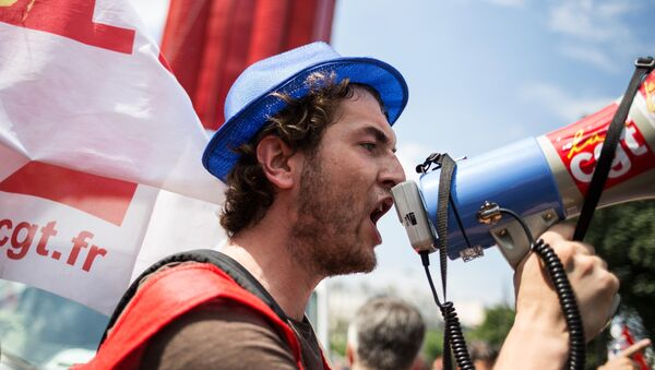 Manifestation parisienne - Sputnik Italia