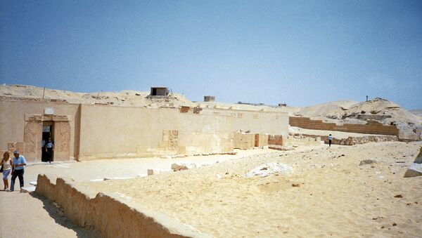 Saqqara is a village in Egypt, located 30 km south of Cairo, serving as necropolis for the Ancient Egyptian capital, Memphis - Sputnik Italia
