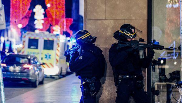 Polizia a Strasburgo - Sputnik Italia