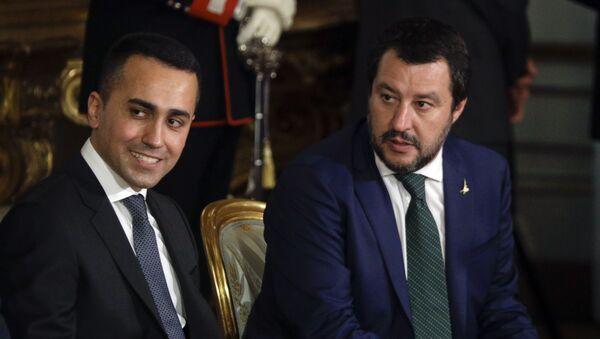 Matteo Salvini e Luigi Di Maio - Sputnik Italia