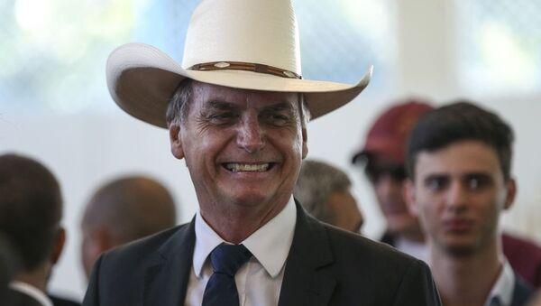 Il presidente eletto brasiliano Jair Bolsonaro - Sputnik Italia