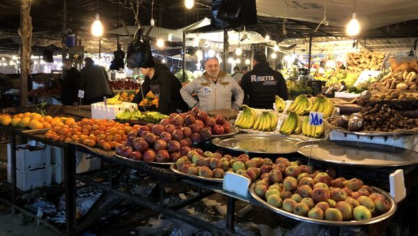 Il mercato notturno di Aleppo - Sputnik Italia