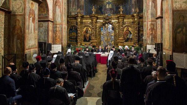Объединительный собор в Софийском соборе, Украина - Sputnik Italia