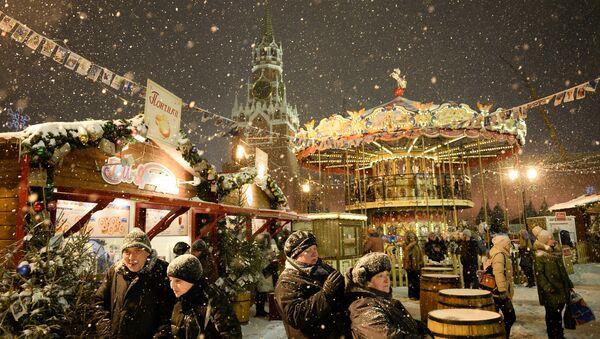 Il Capodanno a Mosca - Sputnik Italia