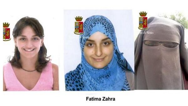 L'evoluzione di Maria Giulia Sergio, 'Fatima Az Zahra', 28 anni - Sputnik Italia