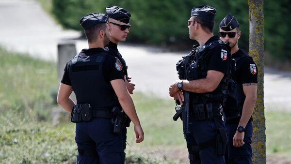 La polizia frencese - Sputnik Italia