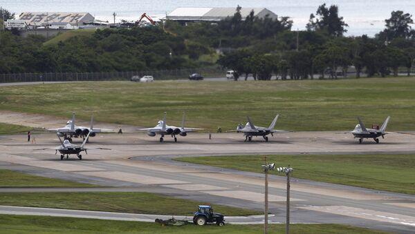 Okinawa, Giappone. Base militare americana. - Sputnik Italia