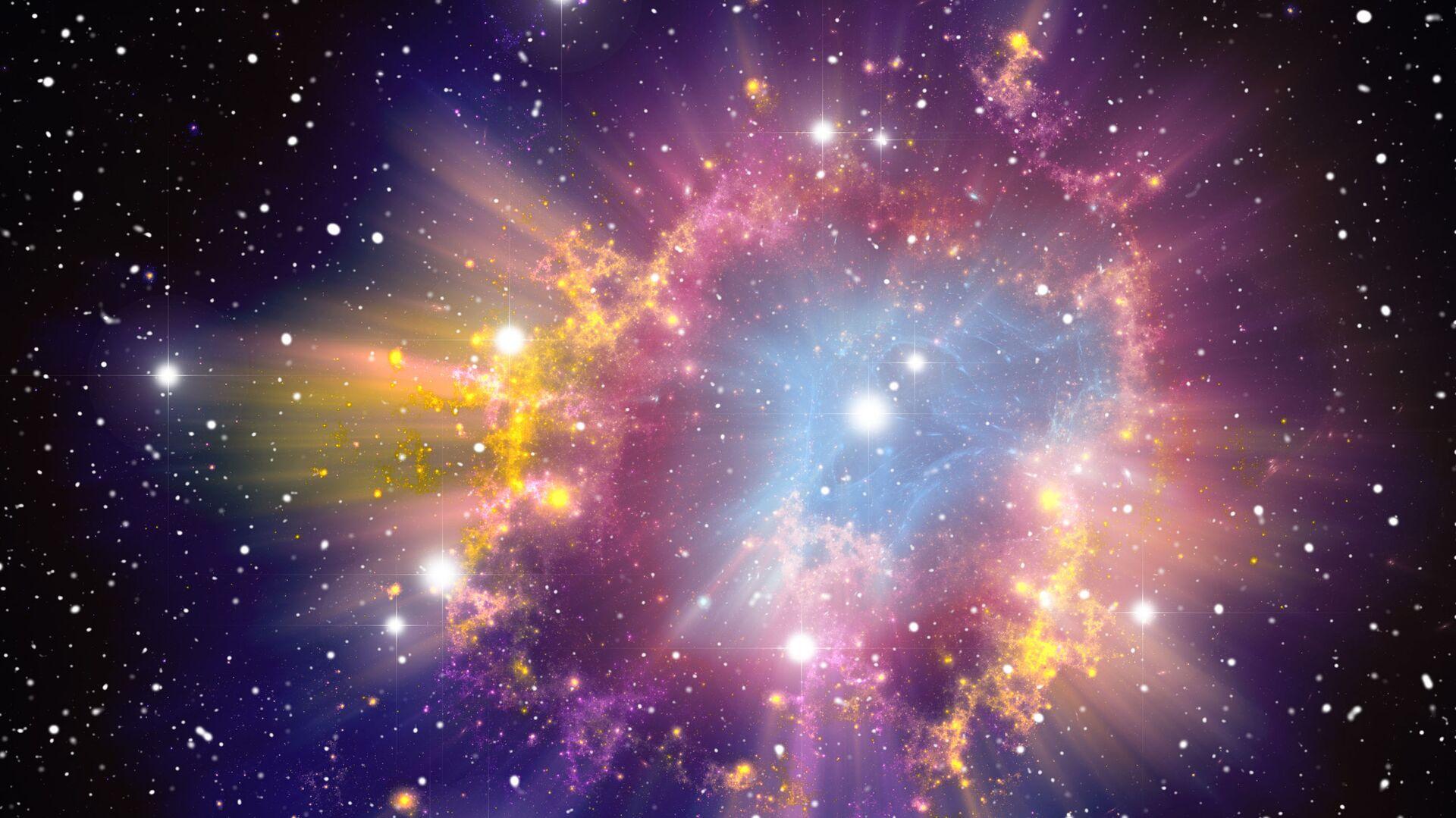 Esplosione di una supernova - Sputnik Italia, 1920, 23.05.2021