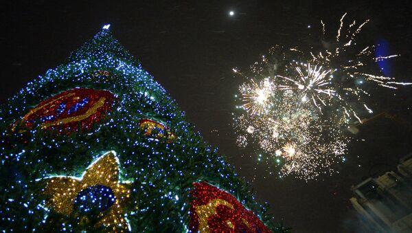 Fuochi d'artificio per Capodanno - Sputnik Italia