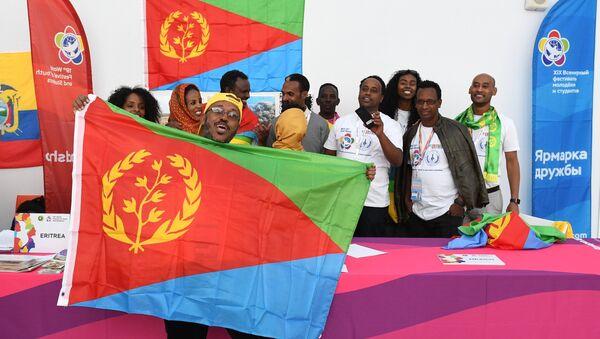 Bandiera Eritrea - Sputnik Italia