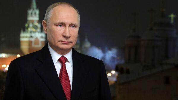 Messaggio di Capodanno 2019 di Vladimir Putin - Sputnik Italia