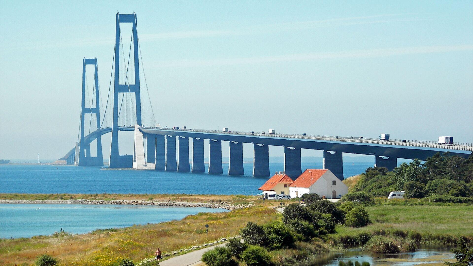 Il Ponte del Grande Belt, Danimarca - Sputnik Italia, 1920, 24.09.2021