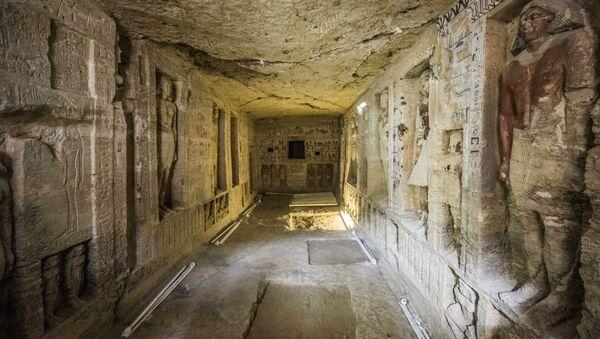 Sacrofato a Saccara scoperto in Egitto - Sputnik Italia