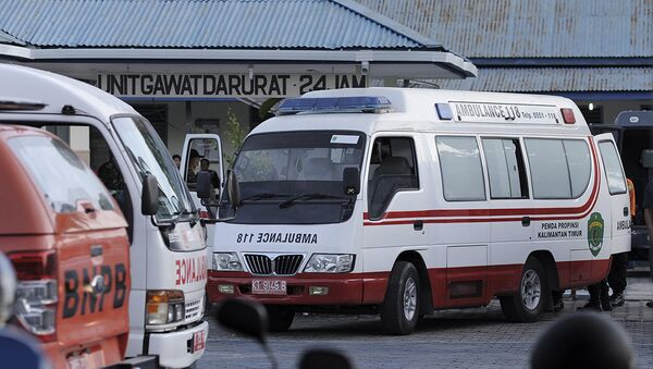 Ambulanza in Indonesia - Sputnik Italia