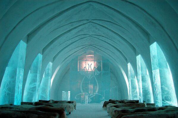 Icehotel di Jukkasjärvi, Svezia. - Sputnik Italia