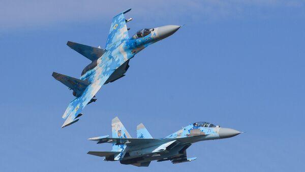Su-27 fighter jet - Sputnik Italia