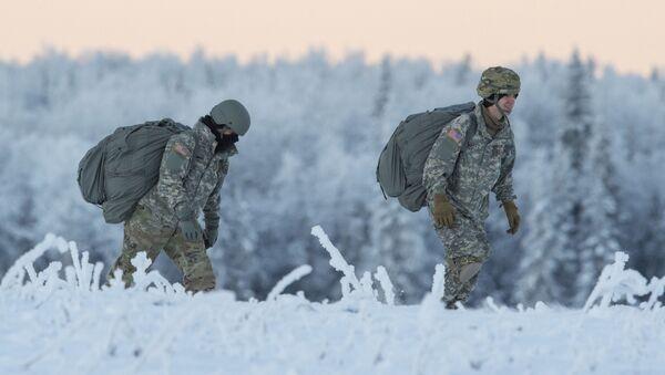Soldati americani durante addestramento. - Sputnik Italia