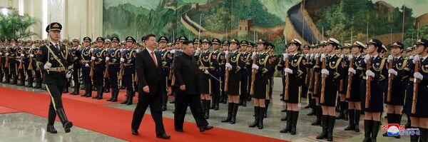 La visita segreta di Kim in Cina - Sputnik Italia