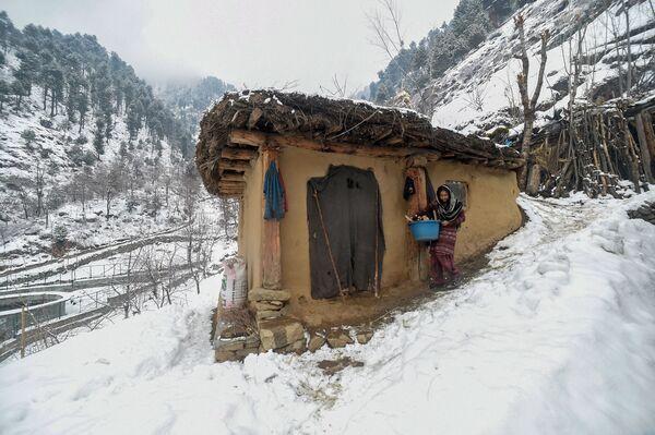 Un'indiana vista nei pressi di Srinagar, valle di Kashmir. - Sputnik Italia