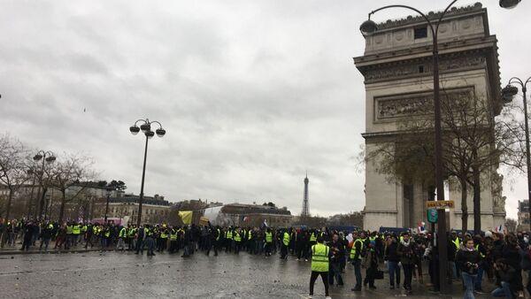 Acte 9 de la mobilisation des Gilets jaunes à Paris - Sputnik Italia