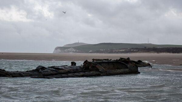 Non lontano dalla città di Wissant, nel nord della Francia, sono stati scoperti i resti di un sottomarino tedesco UC-61 della Prima Guerra Mondiale - Sputnik Italia