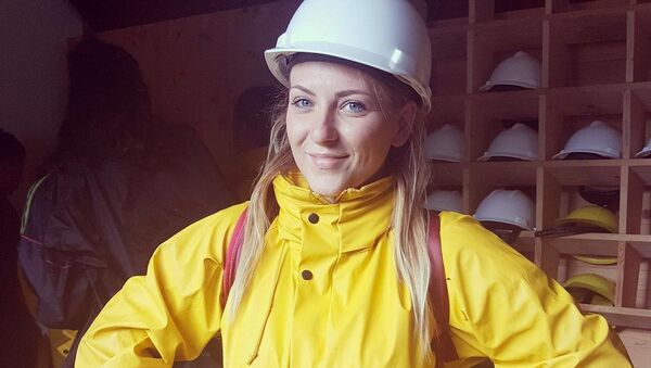 Angela Grignano, ragazza italiana 24enne ferita nell'esplosione a Parigi il 12 gennaio 2019 - Sputnik Italia
