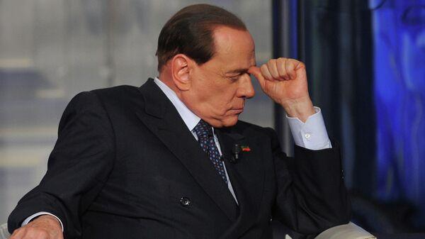 L'ex premier italiano Silvio Berlusconi  - Sputnik Italia
