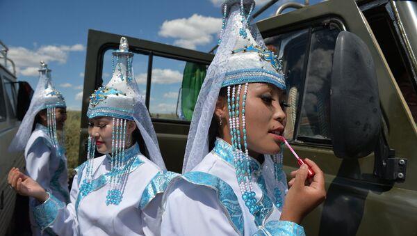 Festival delle danze folkloristiche di Tuva - Sputnik Italia