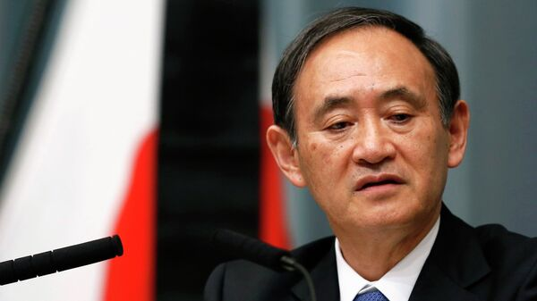 Japan's Chief Cabinet Secretary Yoshihide Suga - Sputnik Italia