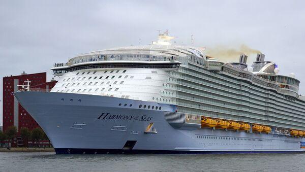 Harmony of the Seas costruita nei cantieri Atlantique - Sputnik Italia