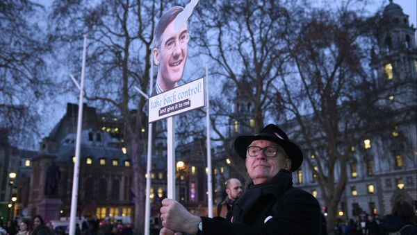 Una manifestazione contro Brexit a Londra - Sputnik Italia