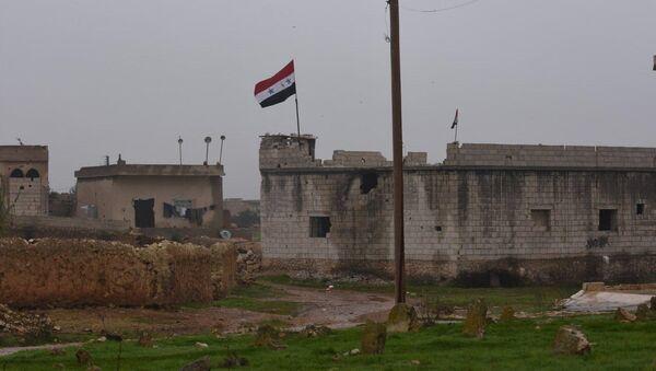 Syrian Armed Forces Deployed Along Manbij Border, Aleppo Province, 30 December, 2018 - Sputnik Italia