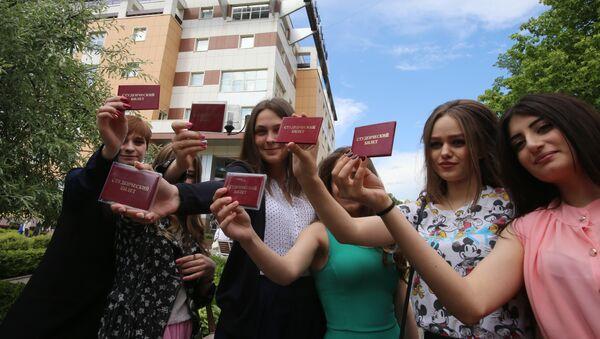 Nel 2018 l'Italia in totale ha concesso 2271 visti - annuali e di breve durata - a studenti russi - Sputnik Italia