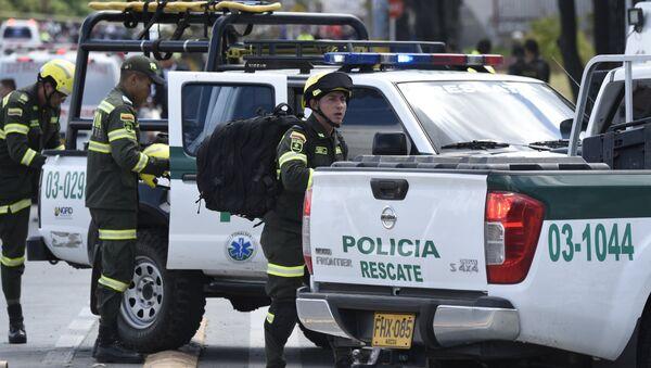 La polizia di Colombia a Bogota - Sputnik Italia