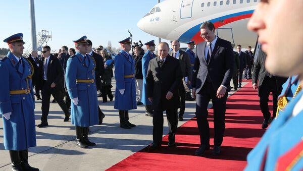 L'incontro tra Putin e Vucic a Belgrado - Sputnik Italia