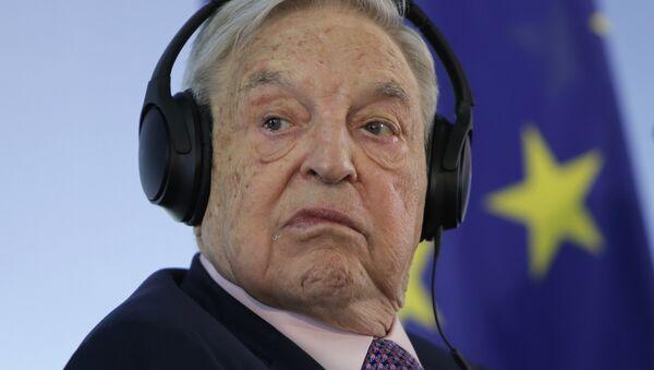 George Soros (Archivbild) - Sputnik Italia