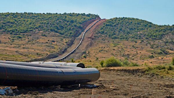 Costruzione del gasdotto TAP - Sputnik Italia